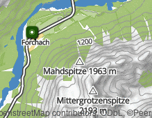 Mappa: Forchach